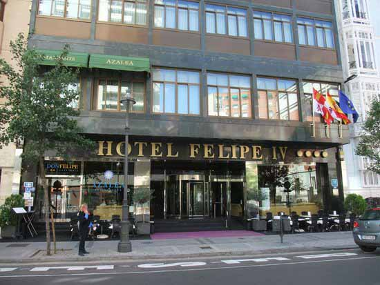 Sala de reuniones y conferencias en Hotel Felipe IV, Valladolid ...